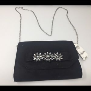 Faye Clutch Black INC International Concepts